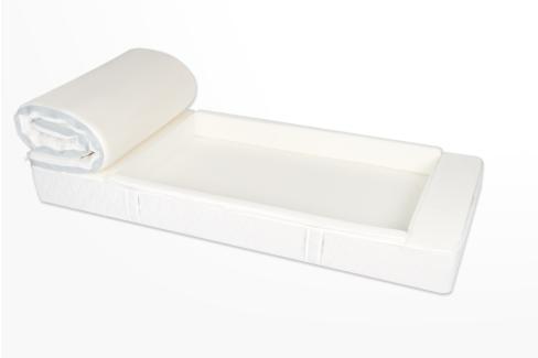 maatwerk-matras-zijranden eenvoudig in bed stappen